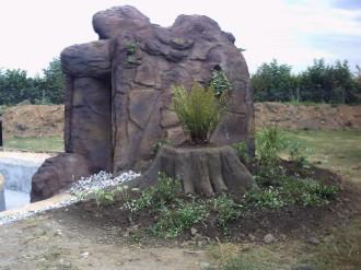 Bienvenue sur le site de lago serge for Decor rocher piscine