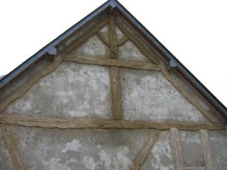 Patine de la façade, chantier