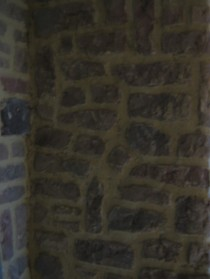 Mur renové chyste rose