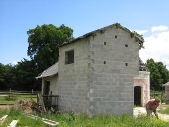 Bâtiment avant travaux